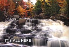 Dushene Falls in North Bay, Ontario.