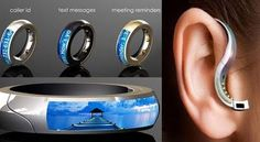 If It's Hip, It's Here: Hot New Hi-Tech Jewelry: The O.R.B.; A Wireless Earpiece You Wear As A Ring