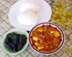 A Malawian Feast: Chicken Curry, Nsime & Nkhwani!