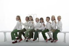 Iowa Septuplets McCaughey | McCaughey Septuplets photographed for their ninth year photo | stock ...