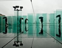 Beautiful, Amazingly Symmetrical Photographs Of Paris Reflected In Water - DesignTAXI.com