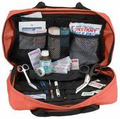 Orange ems trauma bag ANS. $26.50