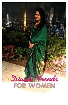 Designer Clothes, Shoes & Bags for Women Diwali, Sari, Trends, Shoe Bag, Polyvore, Shopping, Collection, Design, Women