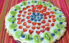 Fruit Pizza - Weight Watchers Recipes