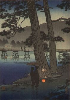 Arashiyama, by Tsuchiya Koitsu, 1930s