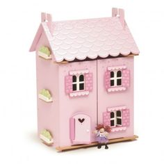 Le Toy Van My first dream house and furniture `One size Awards : Best Toy Award * Details : Wood, 30 accessories, character(s) not included, Front-opening * Age : From 3 years old * Fabrics : Wood * Length : 35 cm, Width : 44 cm, Height : 63 cm. * Conforms http://www.MightGet.com/january-2017-13/le-toy-van-my-first-dream-house-and-furniture-one-size.asp