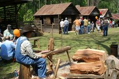 Old Effingham Days in Springfield, GA at the Effingham Museum & Living History Site