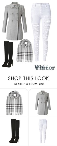 """""""Untitled #55"""" by polyvore-572 ❤ liked on Polyvore featuring Burberry, Miss Selfridge and WithChic"""