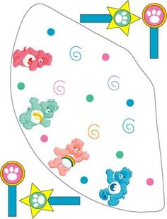 Care Bears birthday party with free printables