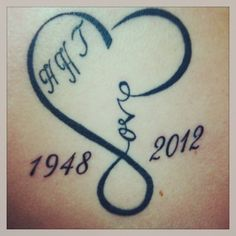 Tattoo in memory of my daddy