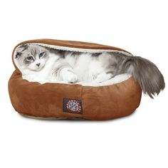 "18"" Micro-velvet Cat Canopy Bed"