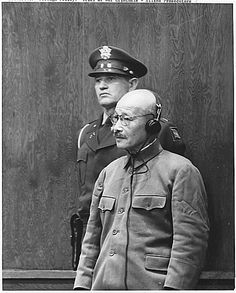 Modeled on Nuremberg, an International military tribunal in Tokyo tried 25 Japanese leaders for war crimes. It sentenced 7 to death, including General Hideki Tojo, 61, who as prime minister had authorized the attack on Pearl Harbor. Some 900 of the countrymen were also executed by the Allies for mistreating prisoners and for other atrocities.