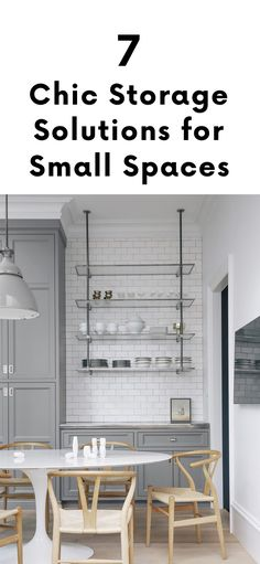 7 Chic Storage Solut