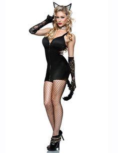 Sexy Halloween Costume Cat Woman Flirtcatalog Com Sexy Cat Costume Catwoman Halloween