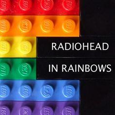 Radiohead, In Rainbows cover art.