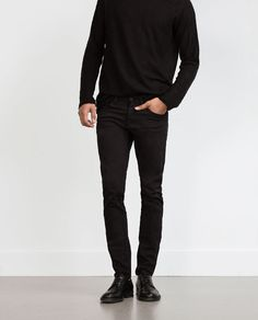 Image 2 of FIVE-POCKET TROUSERS from Zara