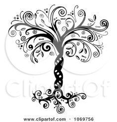 Free Printable Black Art | ... In Black And White - Royalty Free Illustration by LoopyLand #1069756