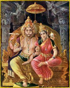 Shri Narasimhadeva photo gallery with 137 illustrations. Srila Prabhupada: Krsna-katha means narrations about Lord Krsna. Shiva Hindu, Shiva Shakti, Hindu Deities, Krishna Art, Hindu Art, Krishna Leela, Krishna Painting, Lord Rama Images, Ancient Indian Art