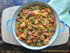Recipe Resuscitation: Jambalaya. Enjoy this healthier version of the traditional New Orleans dish!
