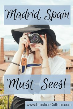 Madrid, Spain is an amazing city. There are heaps of tourists, but that doesn't mean you should avoid any of these stops. They're worth it, I promise! via @crashedculture