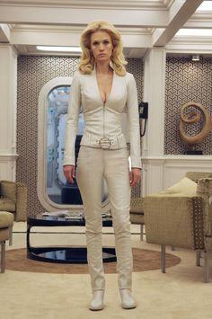 January Jones as Emma Frost - X-Men: First Class