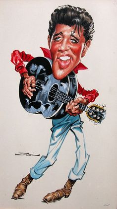 Elvis  (by Bruce Stark)