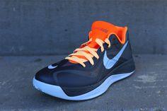 Nike Hyperfuse 2012 Low - Squadron Blue/Total Orange