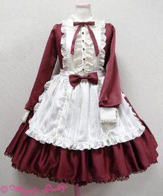 Silky Lady Dress. a lovely dress to wear when being used as a maid at my Mistress's birthday buffet