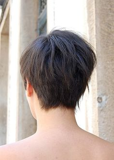 bob hairstyle back view | Back View of Asymmetric Bob Haircut | Hairstyles Weekly