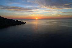 Tramonto dall'isola di Malta