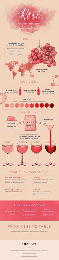 Some call it a blush, some call it rosé. No matter what you call it, rosé wines are as delightfully light, fruity, and aromatic as they are unique. Unlike their red and white wine cousins, rosés are different from their very beginnings. Made from mostly red grapes crushed with their skin still on, rosés can […] {Wine Glass Writer}