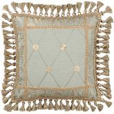 Found it at Wayfair - Savannah Synthetic Pillow with Tassel Trim and Braid