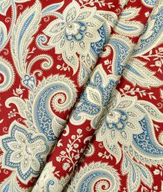 Waverly Rustic Retreat Federal Fabric