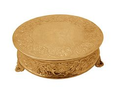 Gold Cake Stands For Wedding Cakes
