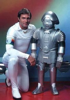 TWIKI from Buck Rogers in the Century If you watched this show as a kid then your childhood was awesome! Sci Fi Tv Series, Movies And Series, Movies And Tv Shows, The Ateam, Buck Rodgers, 80s Sci Fi, Image Film, 80s Tv, Old Shows