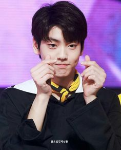 130319 The Show Champion Spotify Playlist, Kpop, Dimples, Listening To Music, South Korean Boy Band, My Boyfriend, Cute Boys, Boy Bands, Boy Groups