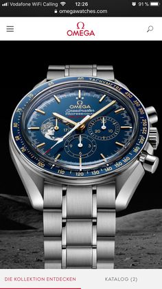 Omega Speedmaster Apollo 17, 45th Anniversary Limited Edition