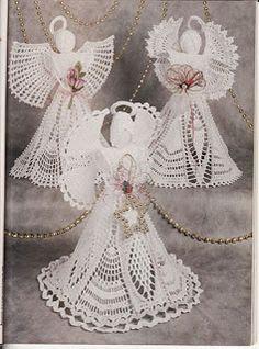 Amigurumis Amorosos: Más angelitos crochet - patrones en castellano