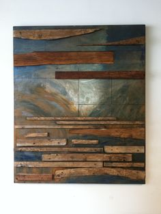 Blue River (Wall Art by Bruno Armesto)