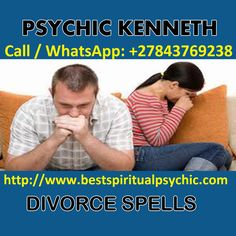 Powerful Global Social Network Spiritualist Psychic Healer, Spell Caster; Call / WhatsApp: +27843769238, twitter:@healerkenneth, Facebook: psychickenneth offers Love Blessings, Marriages, Jobs, Career, Relationships, Divorce, Breakups, Get New Lover, Separations, Binding, and Stop Fighting & Cheating Partner. Confidential, Personal Guidance, Advice, Direction, Support & answers