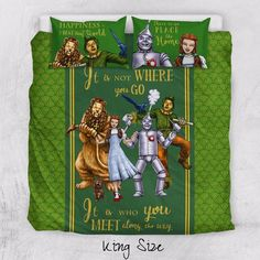 The Wizard of Oz Duvet Cover and Pillowcase Bedding Set