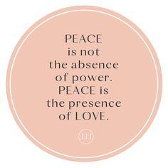 Peace, Love
