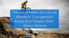 The meaning of a can-do attitude!