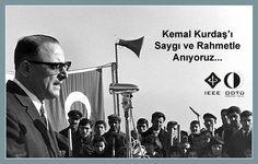 Kemal Kurdaş, ODTÜ mimarı...     * ODTÜ'nün 3 .rektörü  * Seleflerine göre kalıcı işler yapmış, büyük ODTÜ ormanları onun zamanının eseri.  * http://tr.wikipedia.org/wiki/Mustafa_Kemal_Kurda%C5%9F