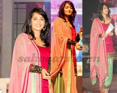 Anushka Shetty Patiala Salwar Kameez | Indian Dresses