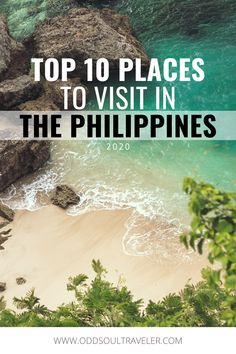 Planning a trip to the Philippines but not sure where to go? No problem! Here are 10 of the best places you can visit in the Philippines. Beautiful islands, lush jungles, sprawling mountains, and a rich culture to top it off. Don't visit one of the most beautiful countries in Southeast Asia without this trusty itinerary! Asia Travel, Travel Tips, Thousand Islands, Jungles, Philippines Travel, Travel Images, Beautiful Islands, Luxury Travel, Where To Go