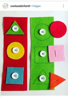 Preschool New activity for working with geometric figures and fine motor skills . - Preschool New activity to work with geometric figures and fine motor skills … – In the first mo - Motor Skills Activities, Preschool Learning Activities, Infant Activities, Preschool Activities, Kids Learning, Kids Educational Crafts, Educational Websites, Learning Games, Fine Motor Skills
