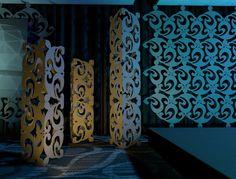 Violet - Rental Backdrops & Rental Decor from Atomic Design
