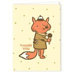 Thank You Fox Card