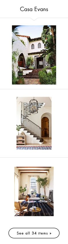 """""""Casa Evans"""" by lemonade-lagoon ❤ liked on Polyvore featuring home, home decor, shay mitchell, people, shay, furniture, tables, accent tables, wallpaper and trellis wallpaper"""